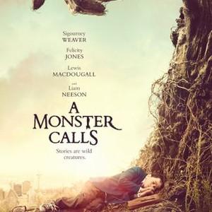 a monster calls, J.A. Bayona, Sigourney Weaver, Liam Neeson, Felicity Jones
