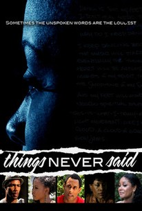 Things Never Said