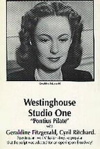 """Westinghouse Studio One - """"Pontius Pilate"""""""