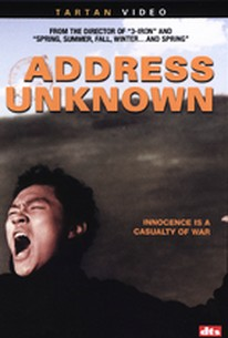 Address Unknown