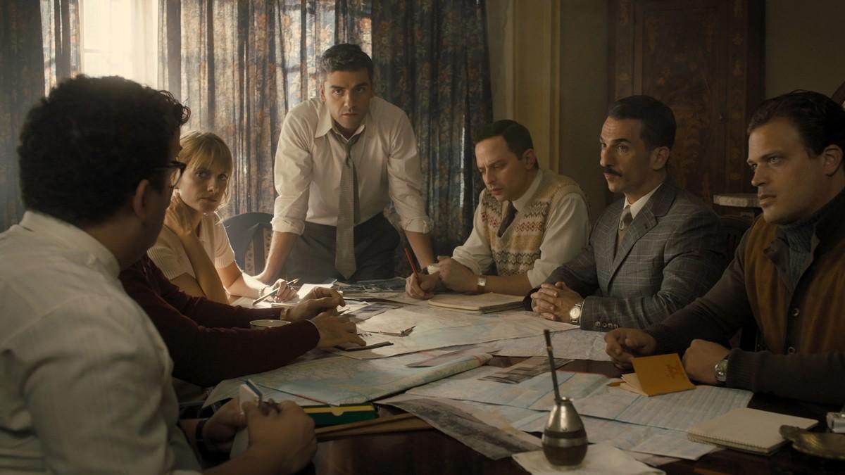 De cast van Operation Finale recensie op Netflix België