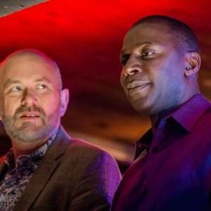 Vincent Franklin (left) and Cyril Nri