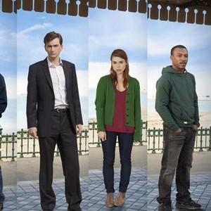 David Morrisey, David Tennant, Billie Piper, Ashley Walters and Jane Horrocks (from left)