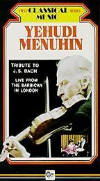 Yehudi Menuhin - Tribute to J.S. Bach
