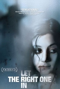 Poster for Let the Right One In (2008)