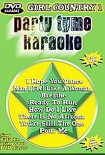 Party Tyme Karaoke - Girl Country 1