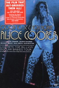 Alice Cooper - Good To See You Again, Alice Cooper: Live 1973 Billion Dollar Babies Tour