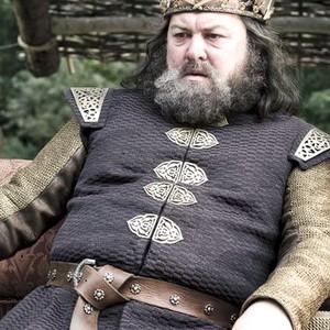 Mark Addy as King Robert Baratheon