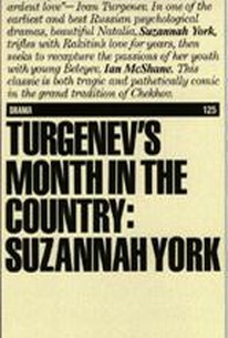 Turgenev's Month in the Country