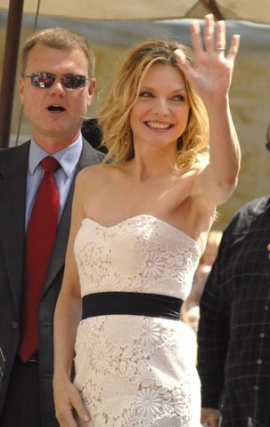 Michelle Pfeiffer Receives Star on the Hollywood Walk of Fame - August 6, 2007