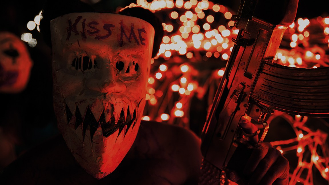 Brittany Mirabile as Kimmy in The Purge: Election Year (2016)