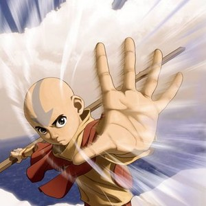 Aang is voiced by Zach Tyler
