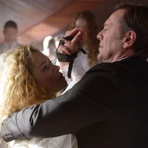 Orphan Black: Season 2, Episode 3, Johanssen (Peter Outerbridge) and Helena (Tatiana Maslany)