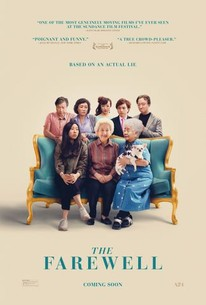 The Farewell (2019) - Rotten Tomatoes