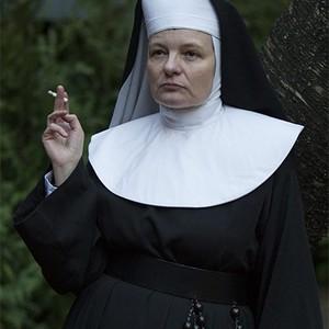 Cara Seymour as Sister Harriet in season one of <em>The Knick</em>