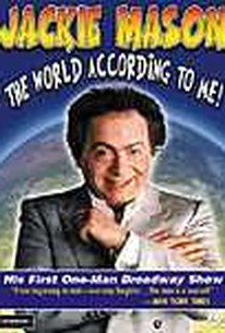 Jackie Mason - The World According to Me