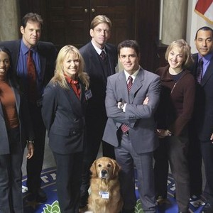 Enuka Okuma, Rick Peters, Deanne Bray, Ted Atherton, Yannick Bisson, Tara Samuel and Marc Gomes (from left)