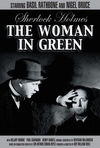 Sherlock Holmes and the Woman in Green