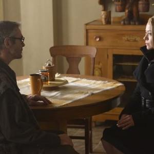 Orphan Black: Season 2, Episode 7, Ethan (Andrew Gillies) and Rachel (Tatiana Maslany)