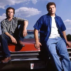 Sam Trammell (left) and Brad Henke