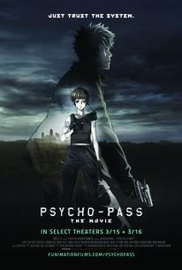 Psycho Pass The Movie Gekijouban Psycho Pass 2016 Rotten Tomatoes