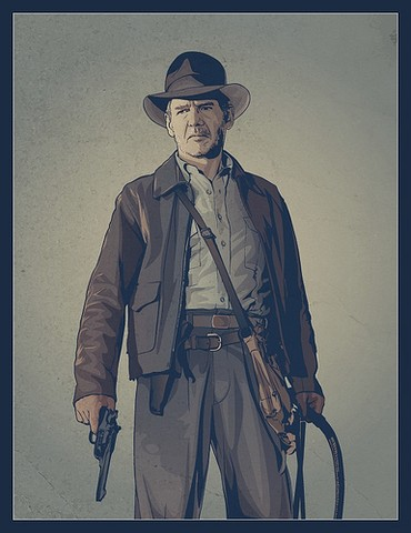 Indiana Jones-Harrison Ford