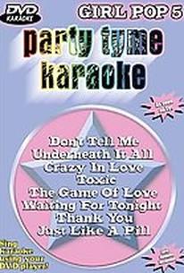 Party Tyme Karaoke - Girl Pop 5