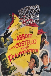 Bud Abbott Lou Costello Meet Frankenstein Poster////Bud Abbott Lou Costello Meet F