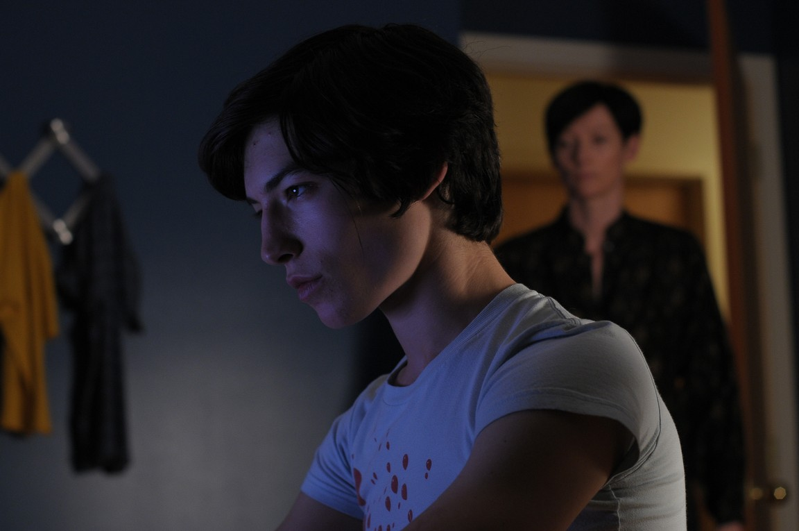 Ezra Miller as Kevin in We Need to Talk About Kevin (2012) Monstrous Child