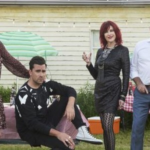 Annie Murphy, Dan Levy, Catherine O'Hara and Eugene Levy (from left)