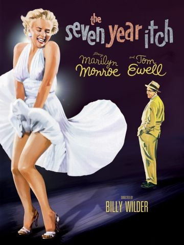 Poster for The Seven Year Itch (1955)