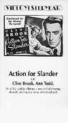 Action for Slander