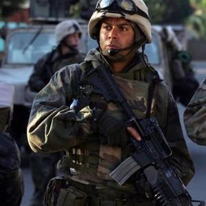 "Jon Huertas as Sgt. Tony ""Poke"" Espera"