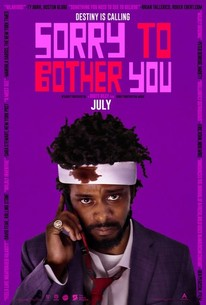 sorry to bother you 2018 rotten tomatoes