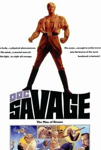 Doc Savage---The Man of Bronze