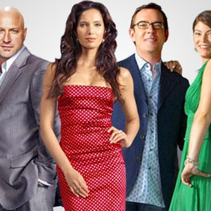 Tom Colicchio, Padma Lakshmi, Ted Allen and Gail Simmons (from left)