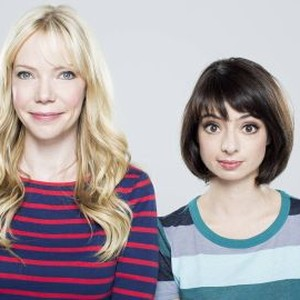 Riki Lindhome (left) and Kate Micucci
