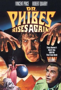 Dr Phibes Rises Again 1972 Rotten Tomatoes