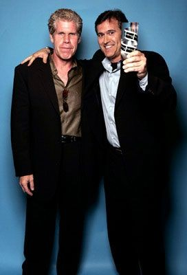 Ron Perlman & Bruce Campbell