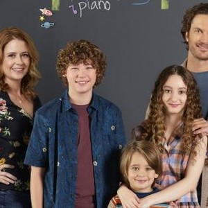 Jenna Fischer, Van Crosby, Sander Thomas, Olivia Keville and Oliver Hudson (from left)