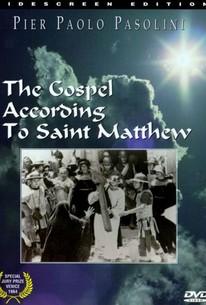 Il Vangelo Secondo Matteo (The Gospel According to St. Matthew)