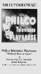 Philco Television Playhouse (January 13, 1952)