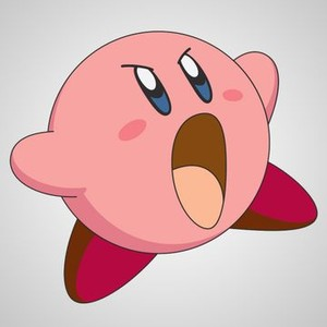 Kirby is voiced by Makiko Omoto