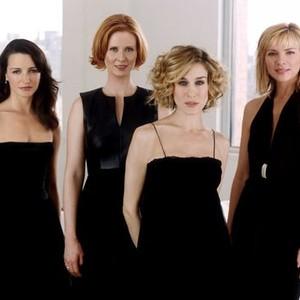 Kristin Davis, Cynthia Nixon, Sarah Jessica Parker and Kim Cattrall (from left)