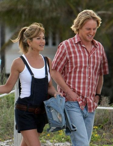 Jennifer Aniston and Owen Wilson Sighting at Cardozo Hotel in Miami Beach