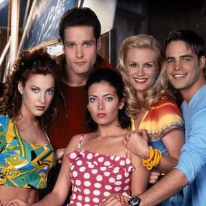 Lindsay Sloane, Kohl Sudduth, Irene Molloy, Bonnie Somerville and Al Santos (from left)