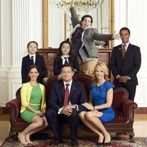 Benjamin Stockham, Amara Miller, Josh Gad and Andre Holland (top row, from left); Martha MacIsaac, Bill Pullman and Jenna Elfman (bottom row, from left)