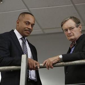 NCIS, Season 12: Rocky Carroll and David McCallum