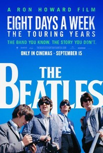 The Beatles Eight Days A Week The Touring Years 2016
