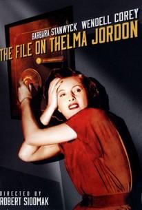 The File on Thelma Jordon